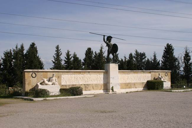 Thermopylae monument