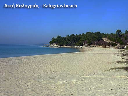 Kalogrias beach