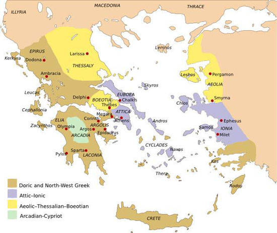 1000BC-First Greek colonization