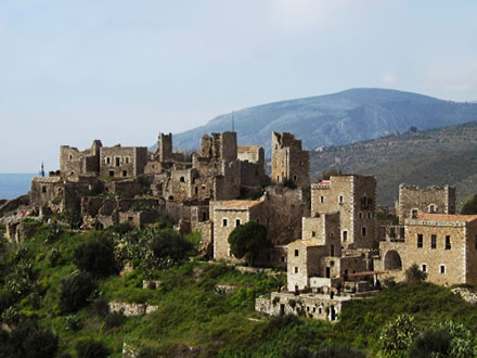 Tower houses of Mani