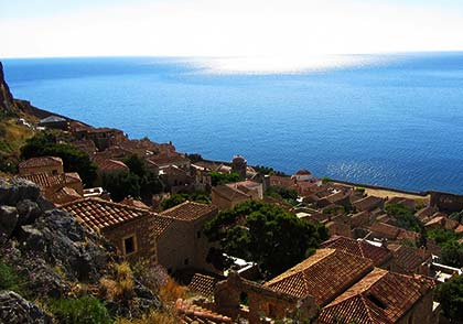 The View of Monemvasia