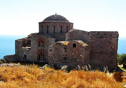 The monuments of Monemvasia