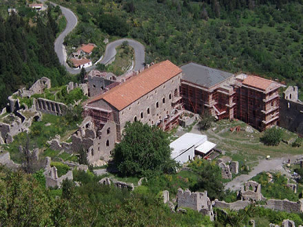 The palaces of Mystras