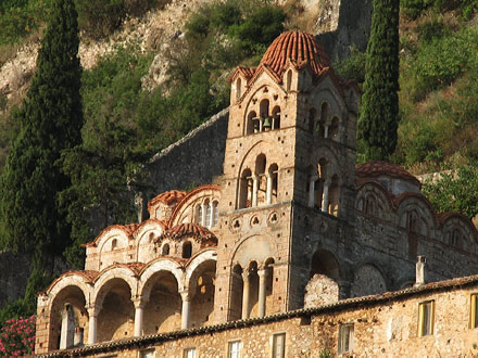 The churches of Mystras
