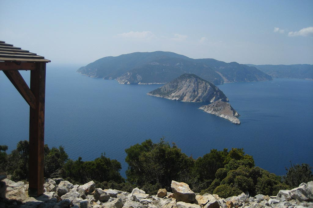 The marine park οf the Northern Sporades