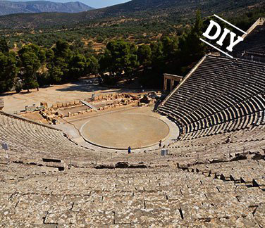 Ancient theater tour