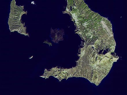 Volcanos of the Aegean